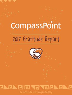 2017 Gratitude Report Cover