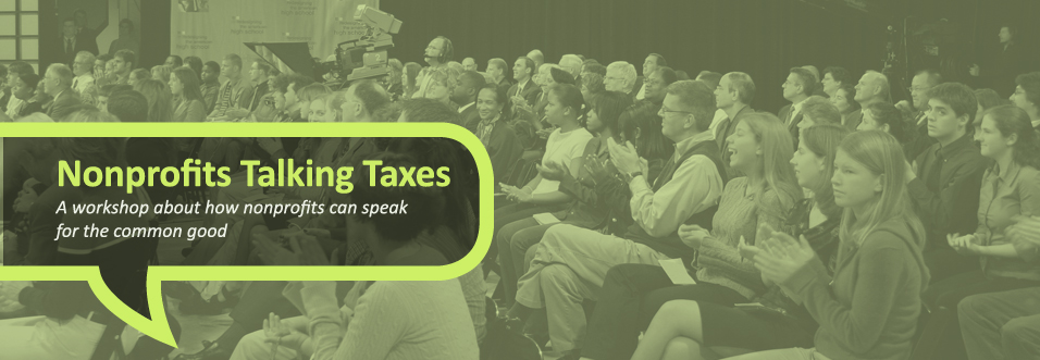 Non profits talking taxes main image