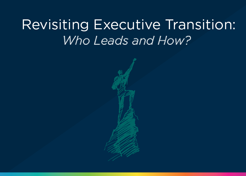 Revisiting Executive Transition