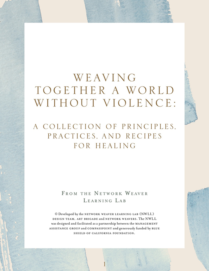 Weaving Together a World Without Violence Ebook